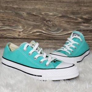 New Converse Chuck Taylor All Star OX Teal Shoes